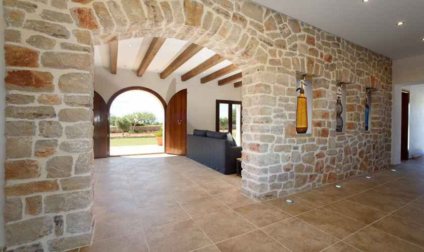 Entrada Ferienvilla Mallorca Südosten PM 6075
