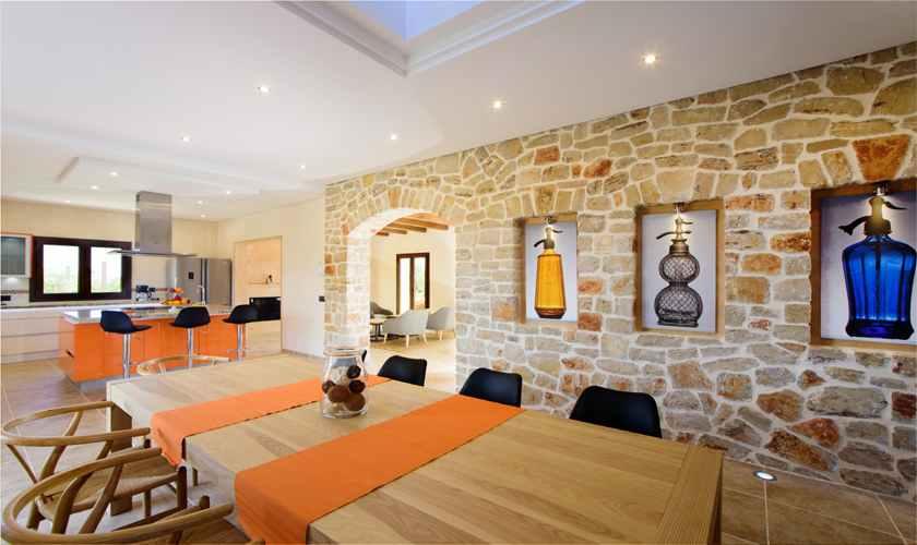 Küche Exklusive Finca Mallorca 8 Personen PM 6075