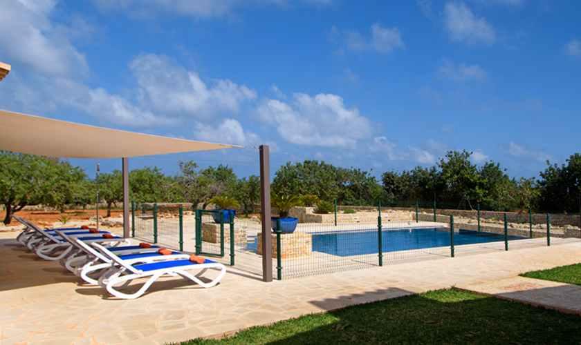 Poolblick Ferienvilla Mallorca Südosten PM 6075