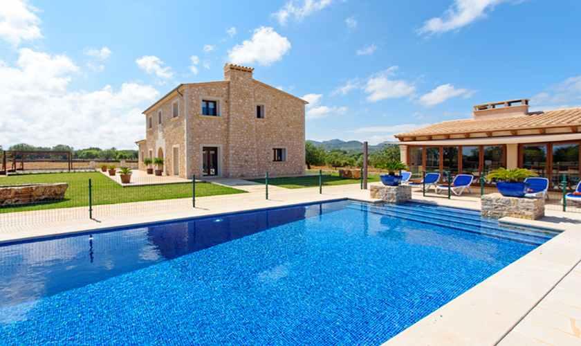 Pool und Luxusfinca Mallorca Südosten PM 6075