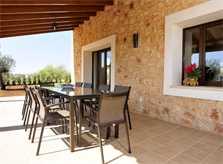 Terrasse Finca Mallorca Südosten PM 6076
