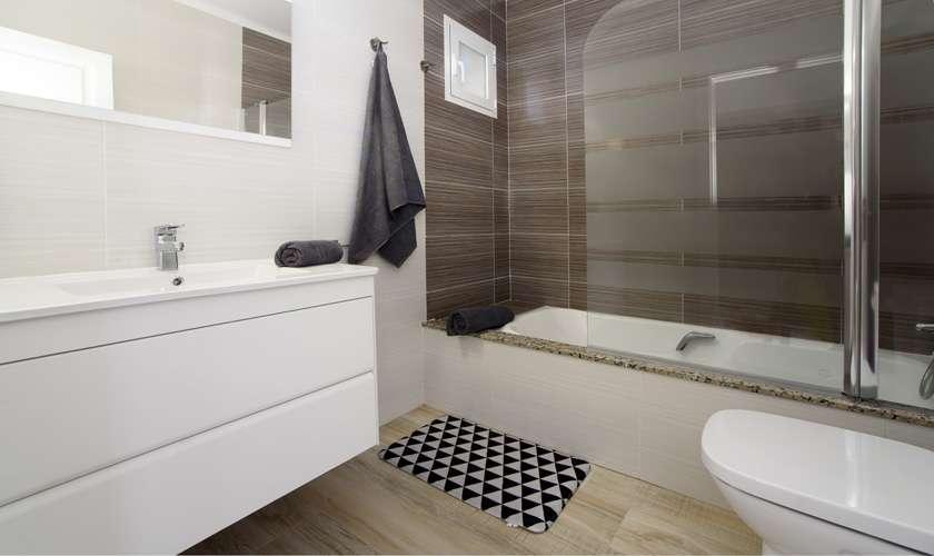 Badezimmer Ferienwohnung Mallorca 4 Personen PM 6078