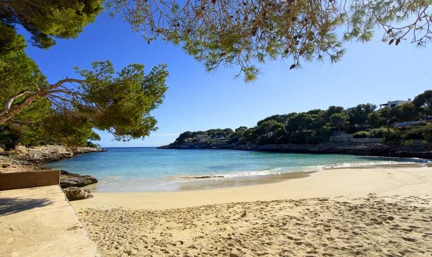 Strand bei der  Ferienwohnung Mallorca PM 6078