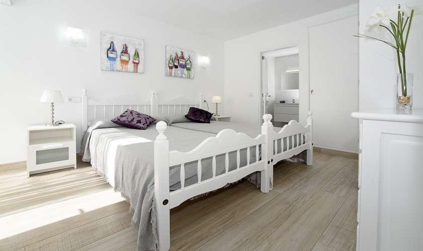 Schlafzimmer Ferienwohnung Mallorca 4 Personen PM 6078