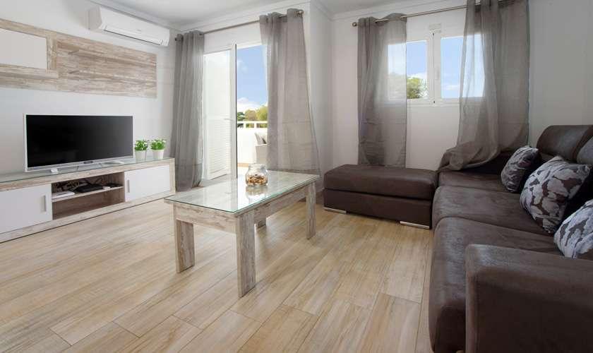 Wohnraum Ferienwohnung Mallorca 4 Personen PM 6078