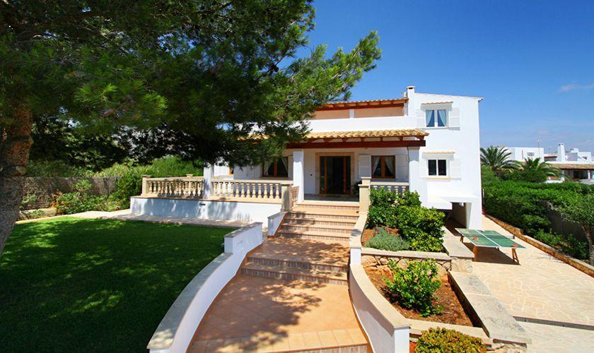 Garten Villa Mallorca mit Pool PM 6079