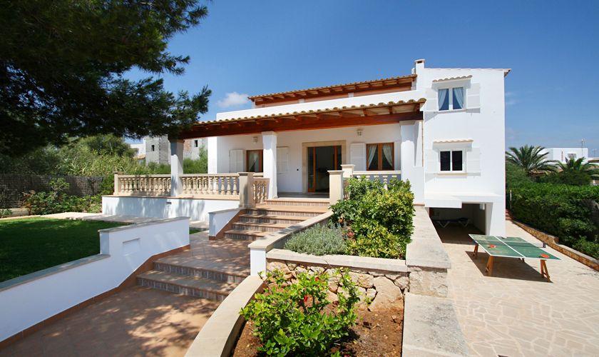 Garten Ferienvilla Mallorca mit Pool PM 6079