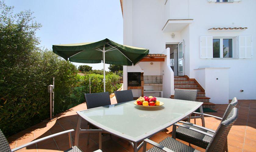 Terrasse Villa Mallorca mit Pool PM 6079