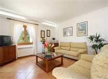 Wohnraum Ferienvilla Mallorca mit Pool PM 6079