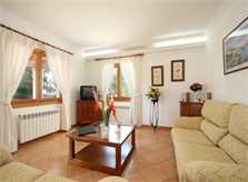 Wohnraum Villa Mallorca mit Pool PM 6079