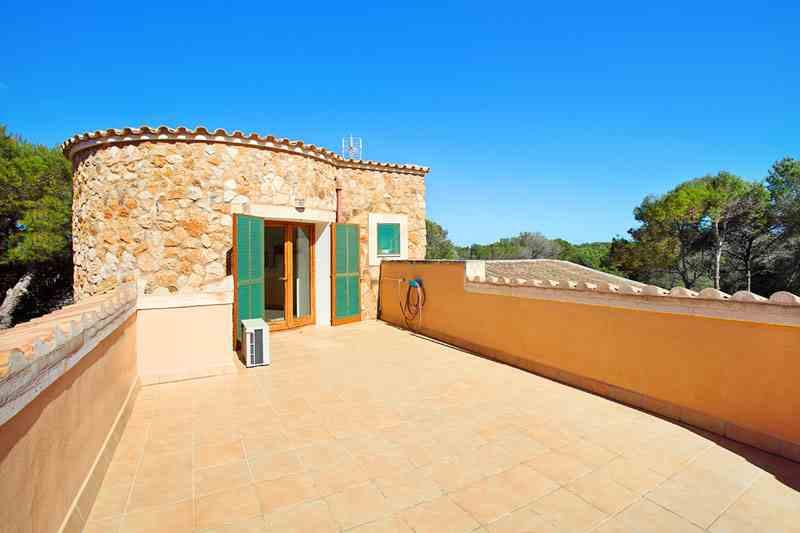 Dachterrasse Villa Mallorca Südosten PM 6081