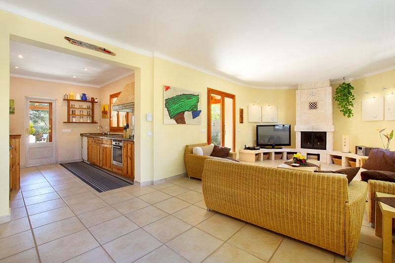 Küche Ferienhaus Mallorca PM 6081