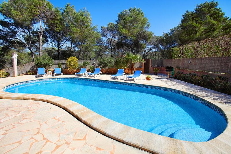 Poolblick Villa Mallorca Südosten PM 6081