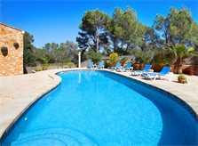 Poolblick und Villa Mallorca PM 6081
