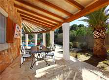 Terrasse Ferienhaus Mallorca PM 6081