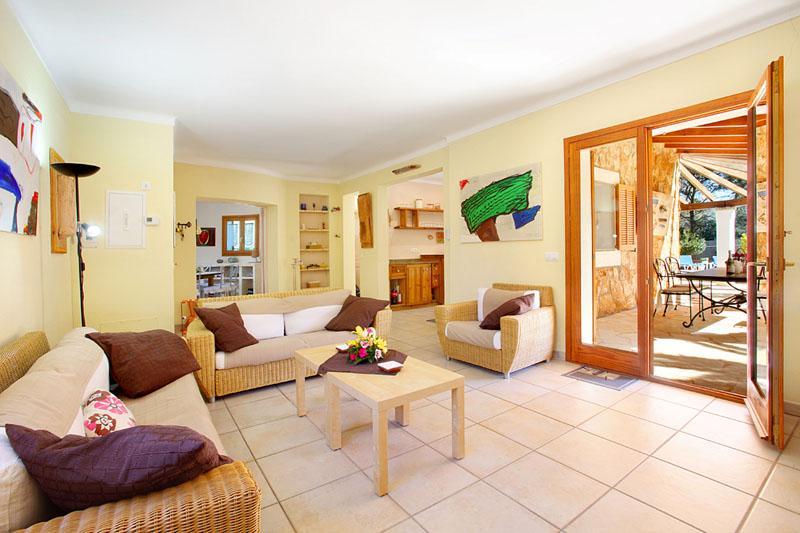 Wohnraum Ferienhaus Mallorca PM 6081