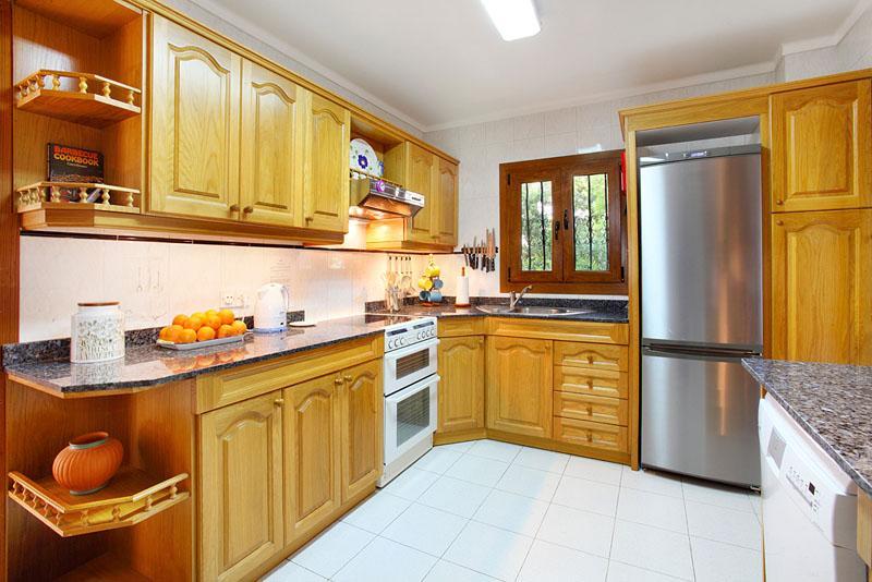 Küche Ferienhaus Mallorca Porto Petro PM 6082