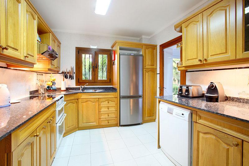 Küche Ferienvilla Mallorca Porto Petro PM 6082