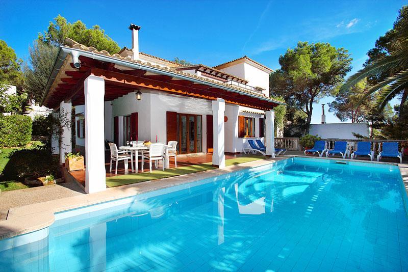 Poolblick Villa Mallorca Südosten Porto Petro PM 6082