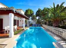 Pool und  Ferienvilla Mallorca Porto Petro PM 6082