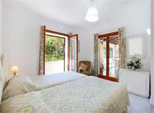 Schlafzimmer Ferienhaus Mallorca Südosten Porto Petro PM 6082