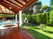 Terrasse und Villa Mallorca Porto Petro PM 6082