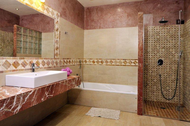 Badezimmer Luxusfinca Mallorca Südosten PM 6086