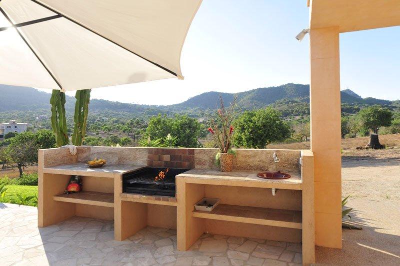 Barbecue Villa Mallorca Südosten PM 6086