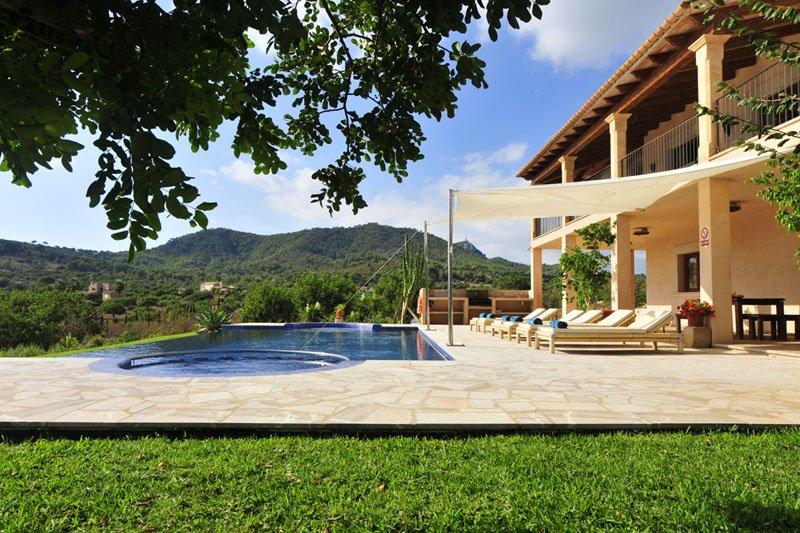 Pool und Villa Mallorca Südosten PM 6086