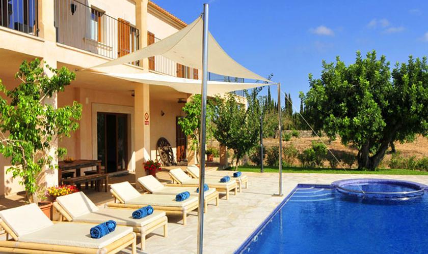 Terrasse Ferienvilla Mallorca PM 6086