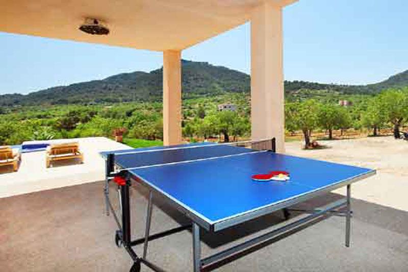 Tischtennis Luxusfinca Mallorca Südosten PM 6086