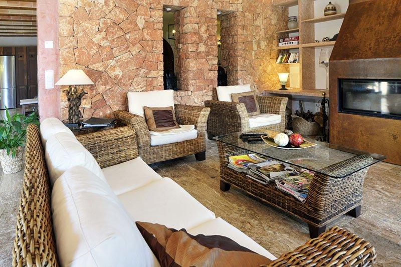 Wohnraum Luxusvilla Mallorca Südosten PM 6086