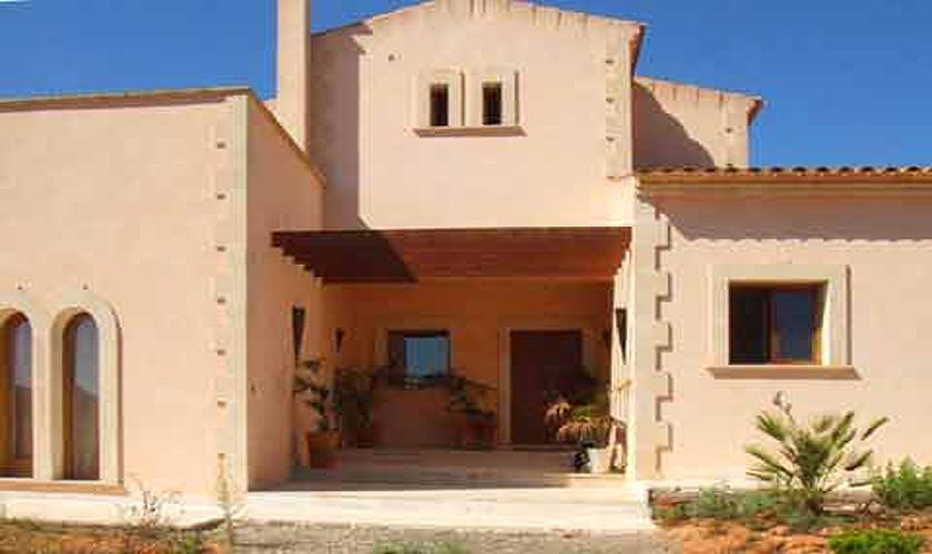 Eingang zur Ferienfinca Mallorca Südosten PM 608