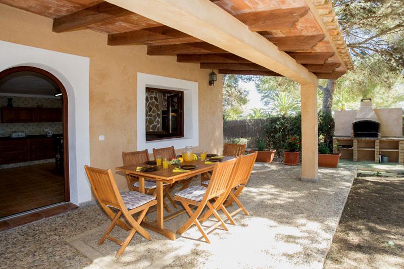 Terrasse und Ferienhaus Mallorca Südosten PM 6090