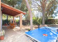 Tischtennisplatte Ferienfinca Mallorca Südosten PM 6090