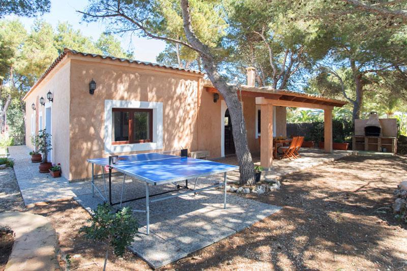 Tischtennis Finca Mallorca Südosten PM 6090 für 6 Personen