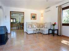 Wohnraum Ferienhaus Mallorca Südosten PM 6090