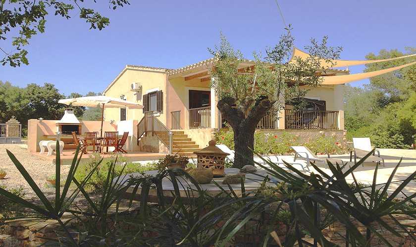 Blick auf die Finca Mallorca Süden PM 611