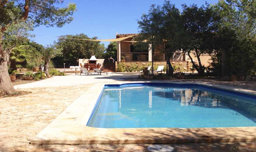 Pool und Finca Mallorca Süden PM 611