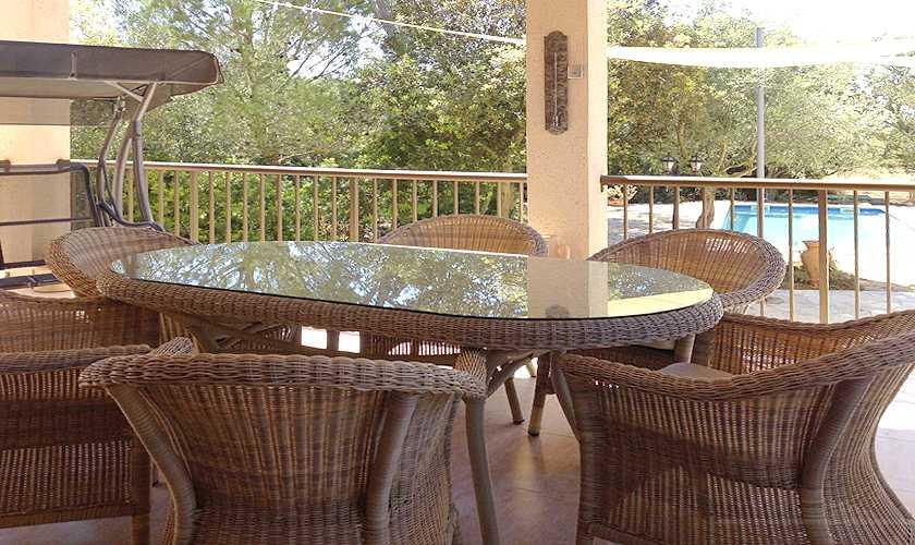 Terrasse Finca Mallorca 4 Personen PM 611