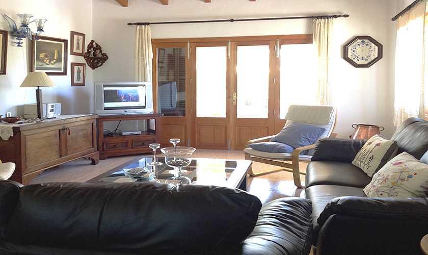 Wohnraum Finca Mallorca 4 Personen PM 611