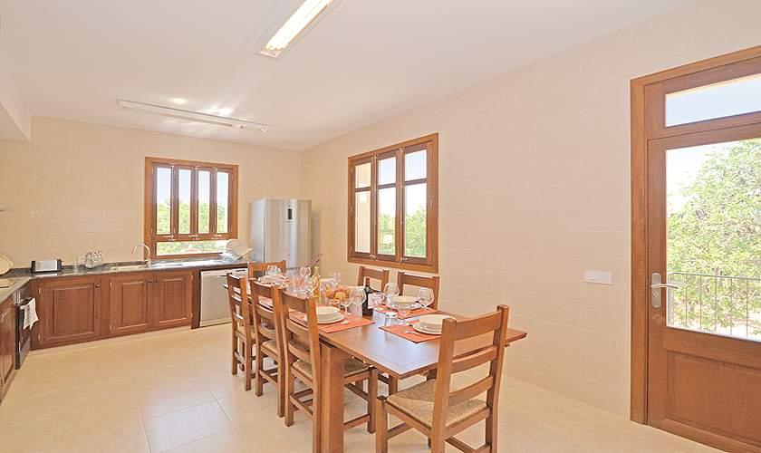 Küche Villa Mallorca 10 Personen PM 6140