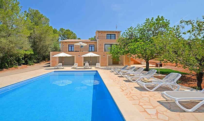 Pool und Ferienvilla Mallorca Süden PM 6140