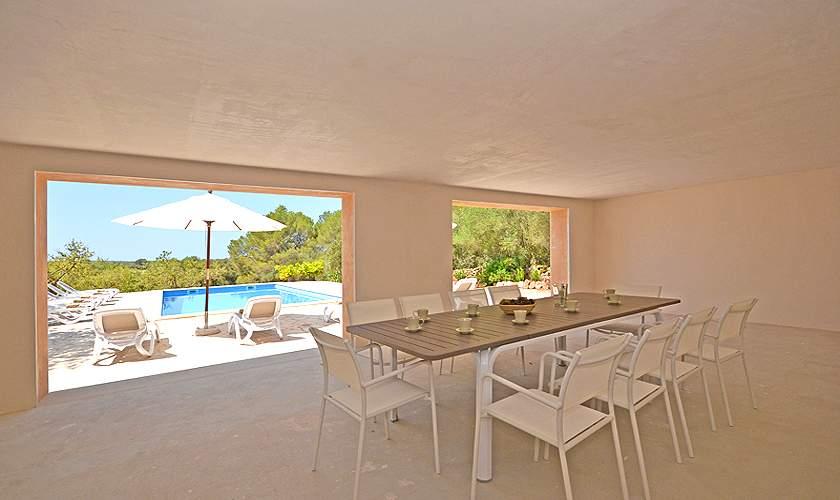 Terrasse Villa Mallorca Süden PM 6140