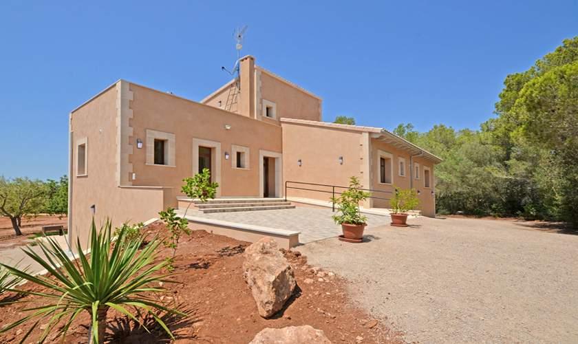 Blick auf das Ferienhaus Mallorca 10 Personen PM 6140