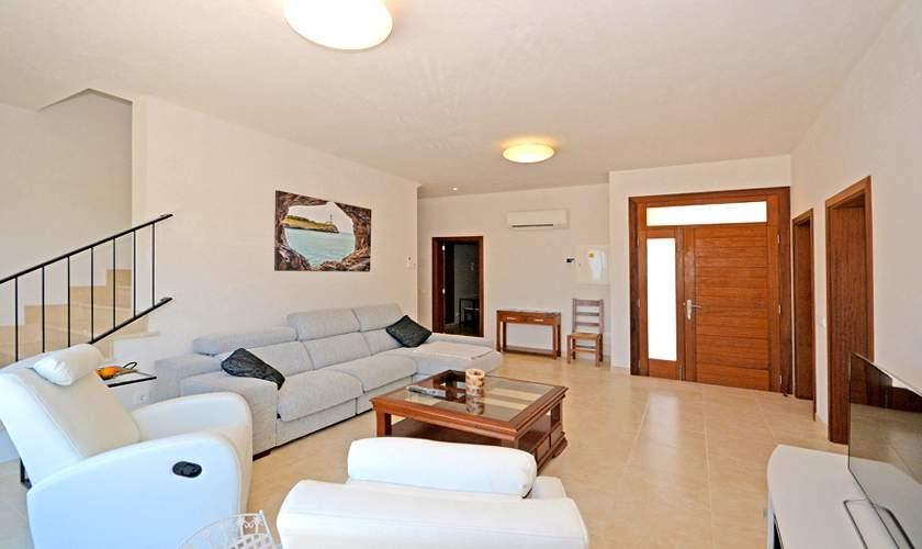 Wohnraum Villa Mallorca 10 Personen PM 6140