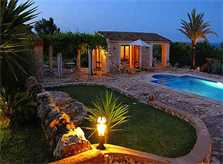 Impression am Abend Finca Mallorca Ostküste PM 630
