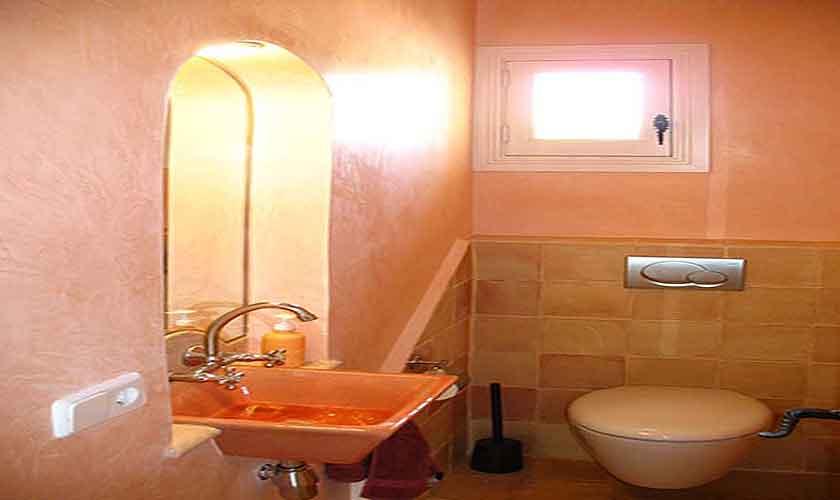 Gäste WC Finca Mallorca Ostküste PM 630