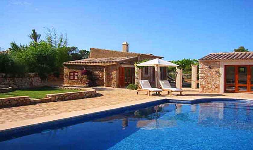 Pool und Gästehaus Finca Mallorca Ostküste PM 630
