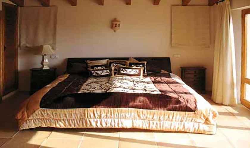 Schlafzimmer Finca Mallorca Ostküste PM 630